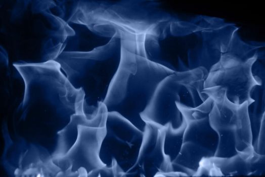 Blue Fire Texture Cold Flame Dark Burn Photo Wallp by TextureX-com