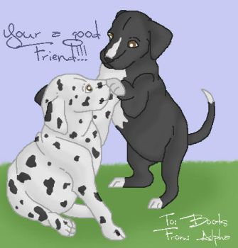 Your a good friend by Depp-Princess