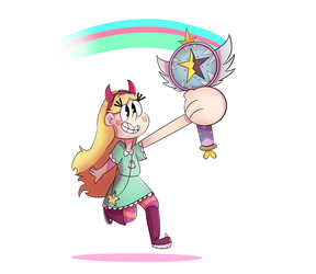 Star Butterfly (Star vs the forces of evil) by MelinaPower14