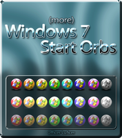More Windows 7 Start Orbs by Officer-Luficer