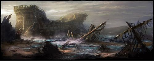 Shipwreck1 by JasonClarkDesign