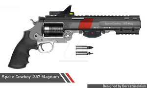 Space Cowboy .357 Magnum Revolver  (Space Magic) by DeRezzurektion