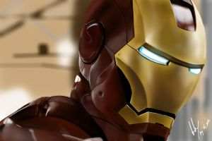 Iron Man II by IGTorres-Art