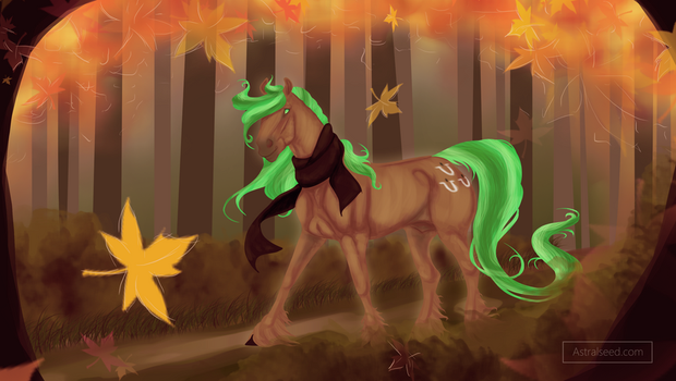 It's Fall Somewhere - Commission by Astralseed