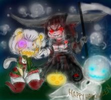 Happy Halloween ~ by catthing