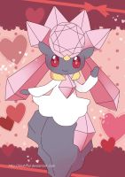 Diancie Poster