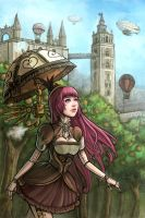 Steampunk Seville by Syney