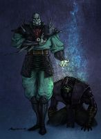 Quan chi and Noob Saibot by PitBOTTOM