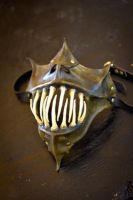 Gargoyle Lower Half Mask by OsborneArts