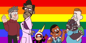 Gay Pride: Disney xd by IWantToBrowsefuckyou
