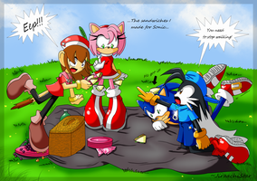 The sandwiches.. The picnic.. by JiraachiStar