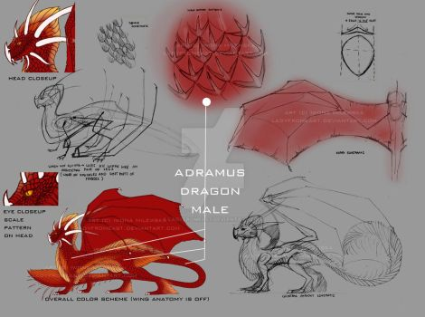 Adramus Character Sheet by LadyFromEast