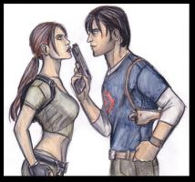 Lara and Kurtis part three by CarolaFunder