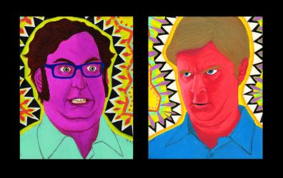 Tim and Eric Fiesta by Misoks