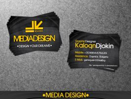 MediaDesign Business Card by gameguardman1a