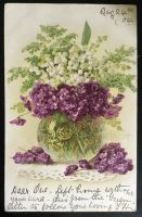 Postcard to Paris - Lily of the Valley, Violets by KarRedRoses