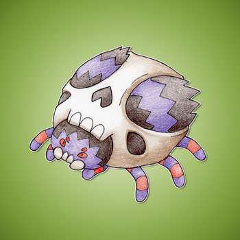 Spider Fakemon by FakeMakeT