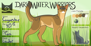 Cougarstar of Windclan by WulfluvrBlackdrgn