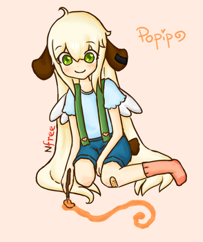 Drawing on the floor by Hirupuri
