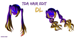 [MMD]- TDA HAIR EDIT [DL] by HinataMew