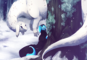 A child of snow and ice by Unikeko
