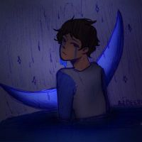 Midnight Rain Colored  by Ailizerbee08