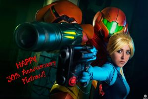 Happy 30th Anniversary Metroid by Samus-Cosplay