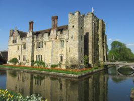 Moated Castle by Citysnaps