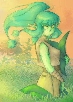 Young Mica by Naritta