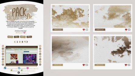 ~~.Pack de Brushes #10 by ISirensDesigns