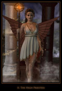 The High Priestess by karibous-boutique
