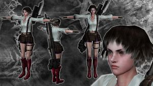 Devil May Cry 3 - Lady - cutscenes model by LegalSoul