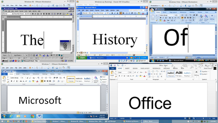 The History of Microsoft Office by FlamePrincess3535