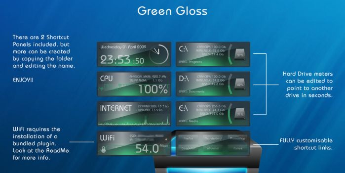Green Gloss Suite by Blackthorn87