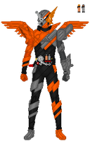 Kamen Rider Build HawkGatling by TerranMarine117