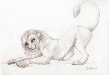 Omega Lioness by OmegaLioness