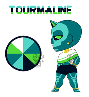 Tourmaline - Gem Adopt - CLOSED by Chobutt