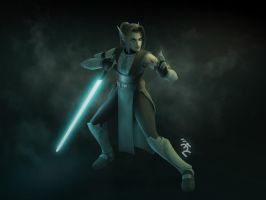 Sakiko during the Clone Wars by Master-Cyrus