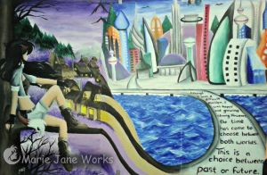 Jane's Worlds by MarieJaneWorks