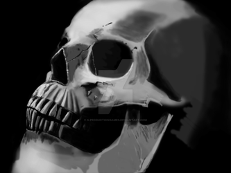 HumanSkull incomplete by S-ProductionGames