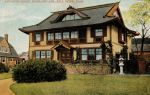 Vintage New England - The Rising Sun House by Yesterdays-Paper