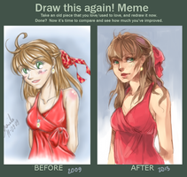 Meme: Before and After by crys-art