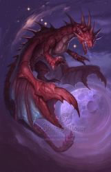 Zodiac  Dragon . Cancer by The-SixthLeafClover