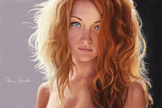 Red hair 2 by Patricia-Crvl