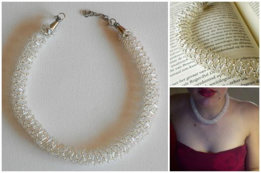 Russian Spiral Necklace by QuantumPhysica