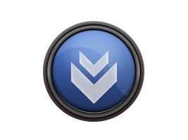 Glossy Download Icon by MaxieLindo