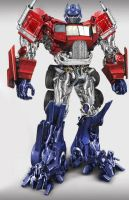 Optimus Prime by someonewhosbeenwatch