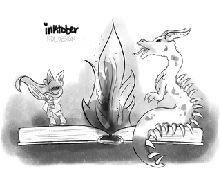 Inktober19 by Lucora