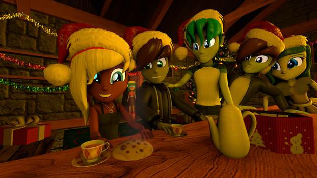 Merry Christmas, friends! by EmpireOfTime