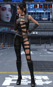 Bad Girls Outfit - 1 by johngate2014